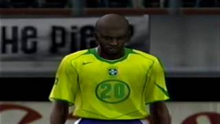 Pro Evolution Soccer 4 - PS2 - Gameplay Recorded in 2005