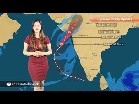 Cyclone Ockhi update: Rain in Mumbai, Maharashtra: System to move towards Gujarat