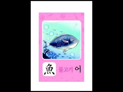 ♥ 구몬 한자 이미지 연상 카드 5A-2 ♥