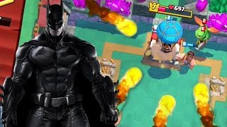 WON the BATMAN in CLASH ROYALE