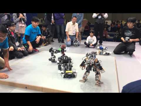 Korea International Robot Contest 2014 - Rumble