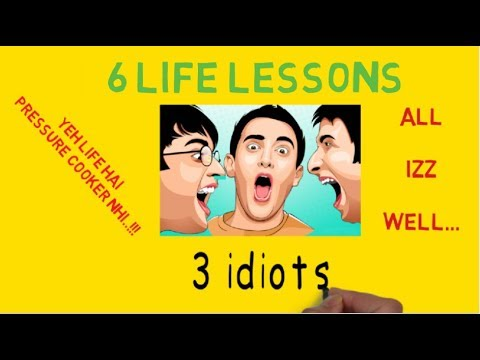 """3 idiots"" – 7 LIFE LESSONS FROM FILM (ANIMATED SUMMARY WITH ENGLISH SUBTITLES)"