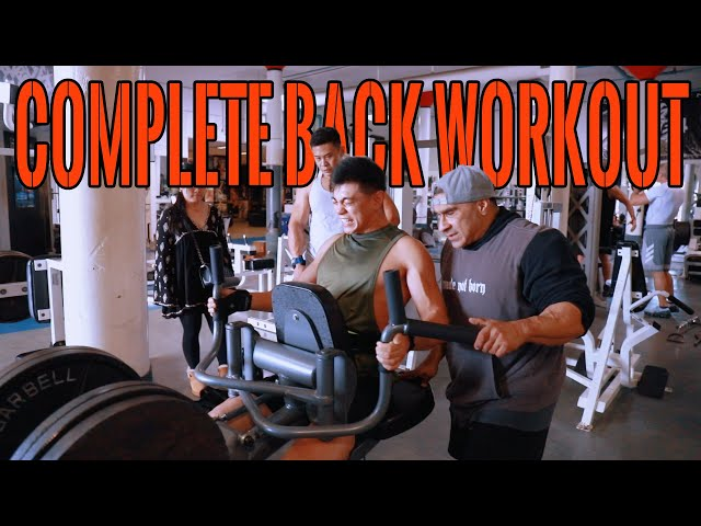 619 MUSCLE TV: Training Series - 3D Back blast w/ NPC NQ, 619 MUSCLE athletes, Shuai Li n Elwin Lee