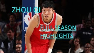 Zhou Qi Full 2017-18 Regular Season Highlights | Rookie Year