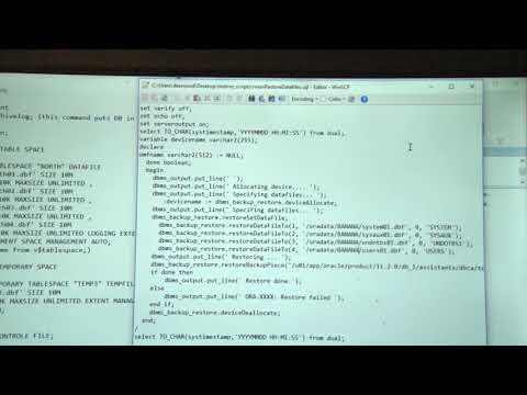 create manuel database