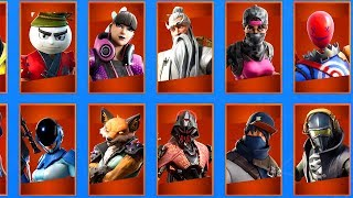 10 LEAKED SKINS That You Have NEVER SEEN BEFORE! (Fortnite Season 10)