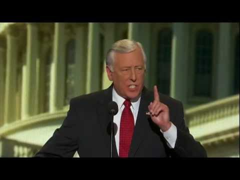 DNC 2012 - Democratic Whip Steny Hoyer Speaks