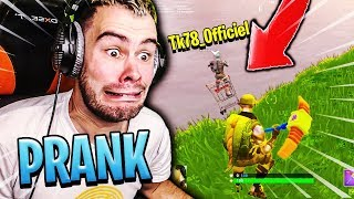 THEKAIRI78 M'A LACHÉ A CAUSE DE CE PRANK CADDIE SUR FORTNITE BATTLE ROYALE !!!