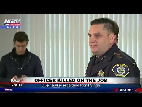 MANHUNT UNDERWAY: Following Officer Killed on the Job in California (FNN)