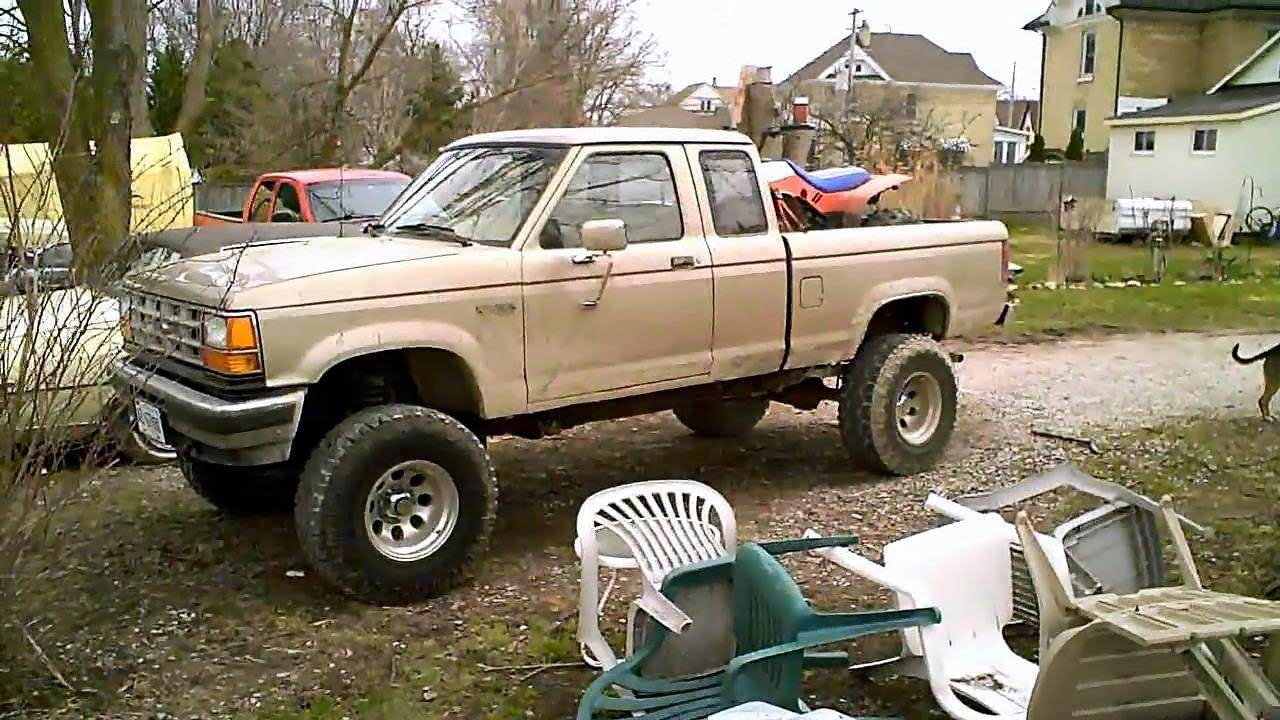 1989 ford ranger 4x4 pre safety check youtube. Black Bedroom Furniture Sets. Home Design Ideas
