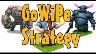Clash Of Clans #12 - TUTORIEL GOWIPE ( Golem , Sorcier , Pekka )