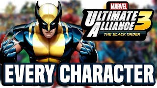 Every CONFIRMED Marvel Ultimate Alliance 3 Character So Far