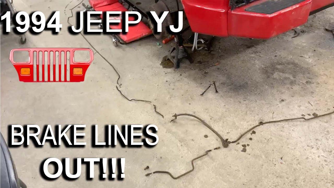 Download 1994 YJ - Part 18 - Removing Brake lines