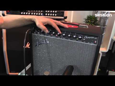 enorme verkoop maat 7 online winkel Fender Champion 40 - YouTube