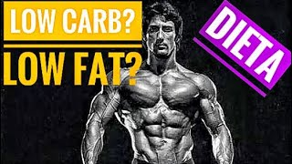 DIETA LOW CARB OU LOW FAT : QUAL VC DEVE ESCOLHER (leia descricao video)