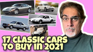 17 Classic Cars to buy in 2021 & why they're a better investment than Property!