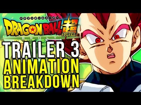 Dragon Ball Super Broly TRAILER 3! Animation Breakdown - FINAL Trailer