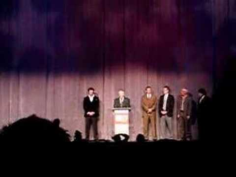 David Cronenberg introduces the actors of Eastern Promises