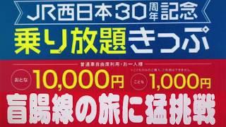 【HD】JR西日本 30周年乗り放題きっぷの旅 第7話「盲腸線の旅に猛挑戦」