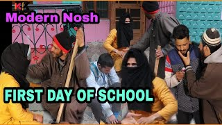 Ist Day of School | School ka pehla din | - Kashmiri Kalkharabs