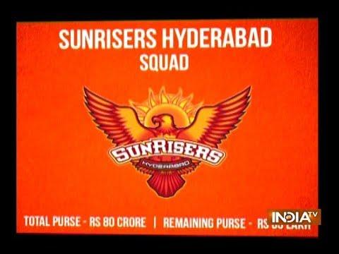 IPL 2018: Sunrisers Hyderabad Full Squad, Complete Team List