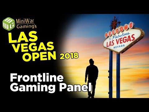 Las Vegas Open - Frontline Gaming Panel