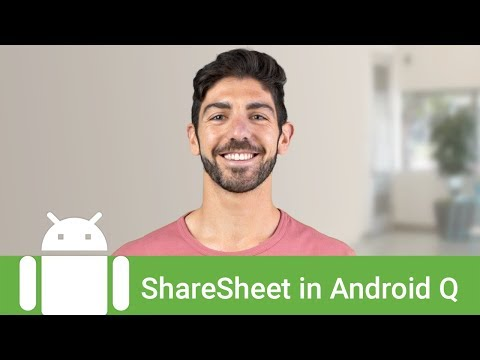 New ShareSheet in Android Q