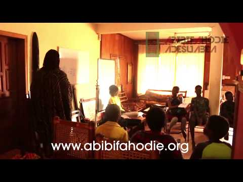 Abibifahodie Adesuabea - Afrikan Liberation School Twi Class 22 9 2017