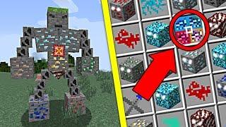 MINECRAFT MOD | Invoca y Lucha Contra El Nuevo Guardian De Los Ores | Mods Para Minecraft