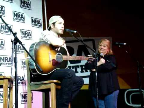 Josh Thompson Interview at the NRA Country Fan Party