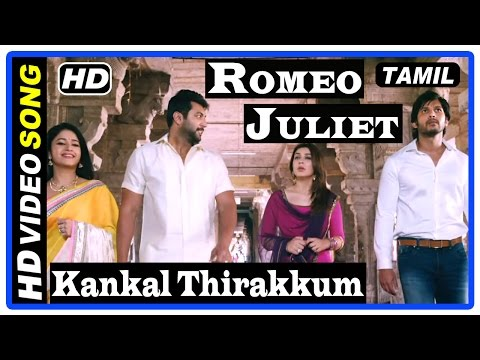 Romeo Juliet Tamil Movie | Scenes | Kankal Thirakkum Song | Hansika call her wedding off with Vamsi