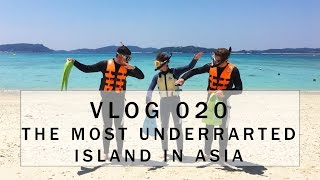Vlog 020 - The most underrated island in Asia ( Crazy Drone footage )