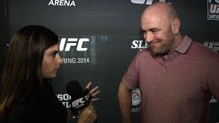 UFC on FOX 9: Dana White Press Day Interview