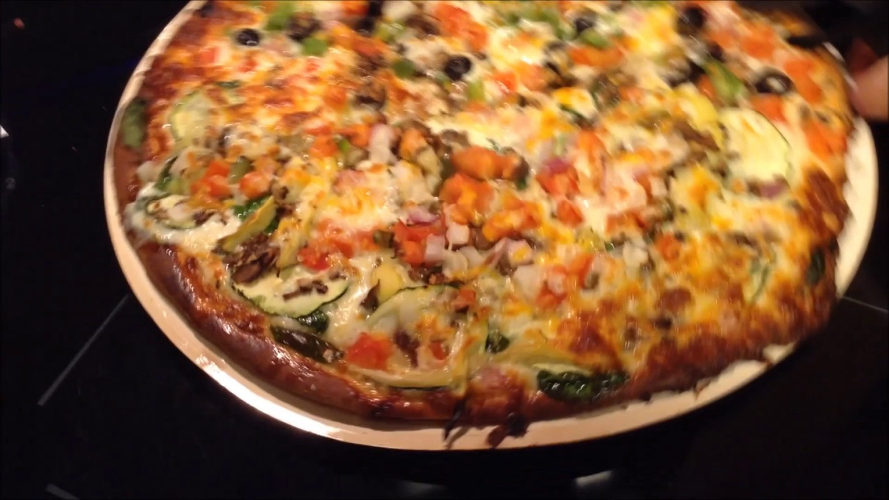 How To Cook A Papa Murphy S Pizza Youtube