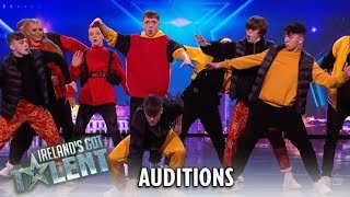 Fly Youth: INCREDIBLE Young Dance Crew Wows Ireland! | Ireland's Got Talent 2019