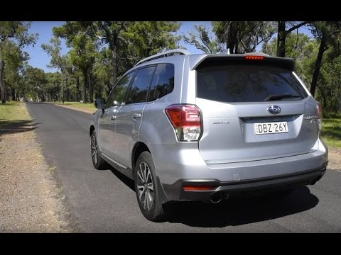 2016 Subaru Forester XT 0-100km/h & engine sound