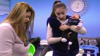 How to care and feed the baby. | A healthy baby. (*newborn). | Mom and baby tutorial videos: 67