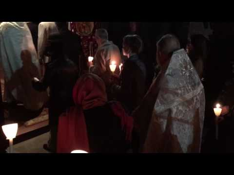 Pascha Celebration 2017 - procession
