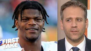 Lamar Jackson doesn't have the MVP locked up yet – Max Kellerman | First Take