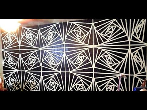 Geometric Wall Art geometric wall art - youtube
