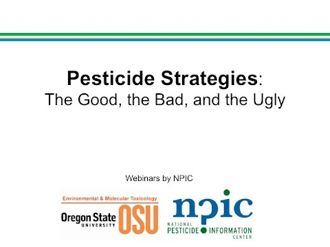 Pesticide Strategy: The Good, the Bad, and the Ugly