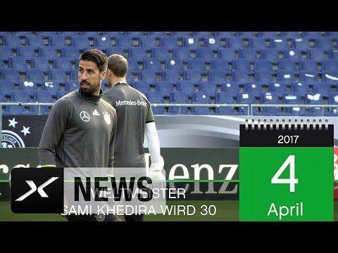 Weltmeister Sami Khedira wird 30 | Juventus Turin | Real Madrid | VfB Stuttgart