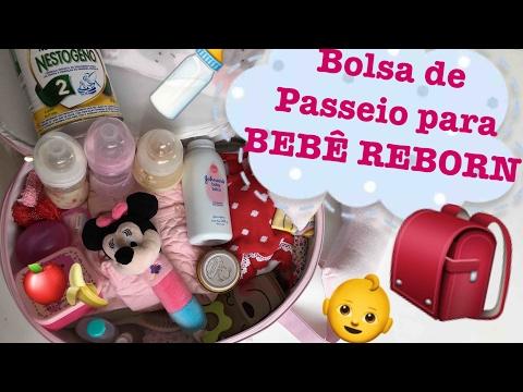 O que levar na bolsa de passeio do seu BEBÊ REBORN - Ana Paula Guimarães