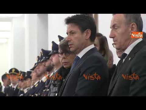 Conte commemora l'anniversario della morte di Nicola Calipari