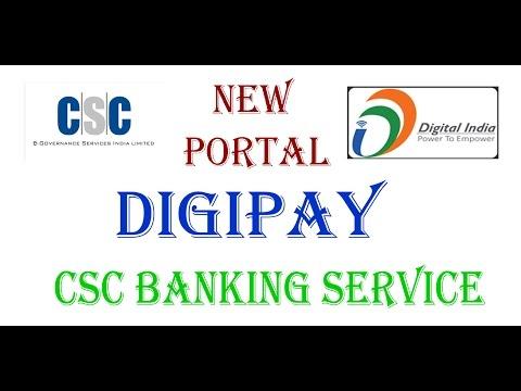 DIGIPAY BANKING SERVICE [APNA CSC (DIGITAL SEVA)