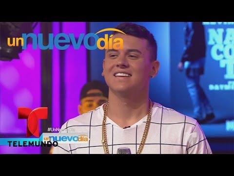 Kevin Roldán cuenta cómo fue trabajar con Alejandro Sanz | Un Nuevo Día | Telemundo