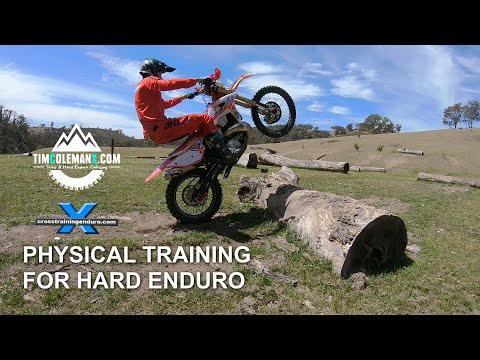 TIM COLEMAN'S PHYSICAL TRAINING TIPS FOR HARD ENDURO: Cross Training Enduro