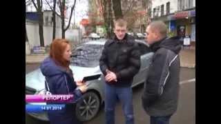 ДК Луганск на телеканале ИРТА сюжет № 16(В Луганске снова повредили машину активисту «Дорожного контроля»сюжет ТК ИРТА 13 января 2014 года, неизвестны..., 2014-01-14T20:46:08.000Z)