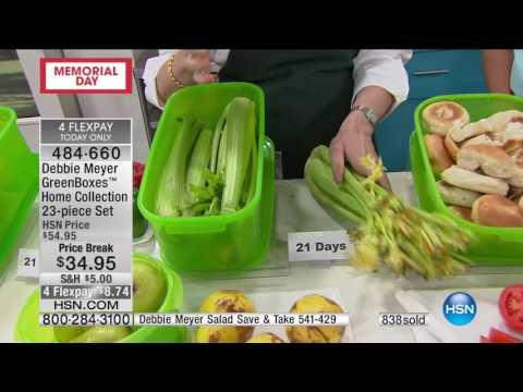 HSN   Kitchen Innovations featuring Debbie Meyer 05.29.2017 - 02 PM