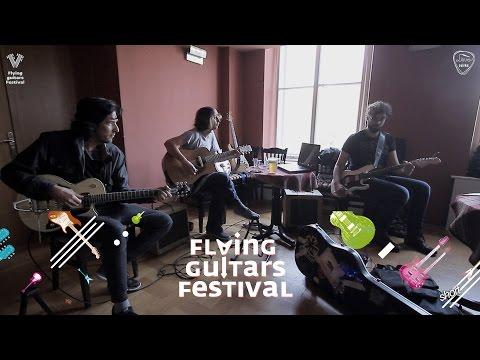 Festival letećih gitara - Radionica blues rock gitare short - Jura Geci, Yogi Lonich & Toni Tkalec